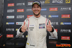 Jocke Mangs vann Carrera Cup.