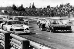 """""""Emma"""" i pole före Bächi och Nykjaer i Karlskoga under finalen 1982."""